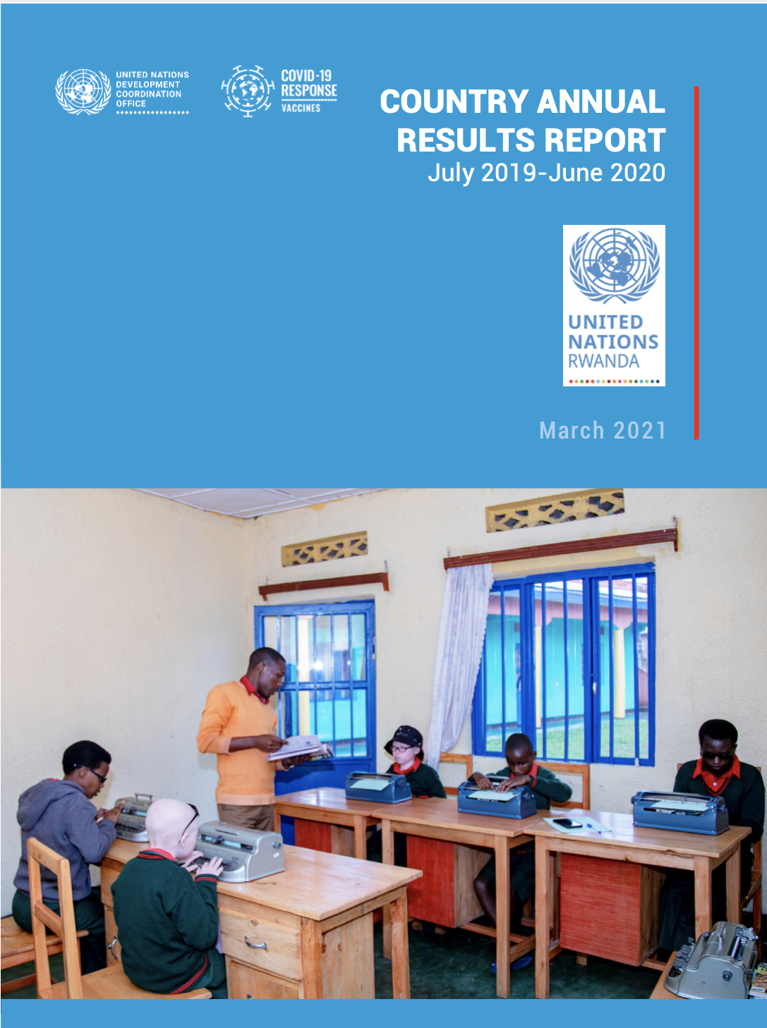 One UN Country Annual Results Report 2019-2020