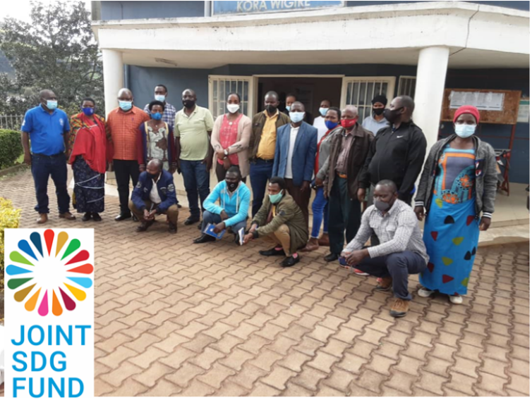 UN joint programme enables community leaders to manage response to climate related shocks and coordinate services to the poorest in rural Rwanda