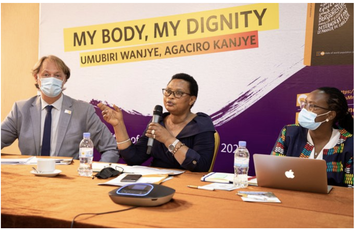 My Body, My Dignity!  Rwanda: Our march continues until the rights, choices and bodies of all girls are fully their own.