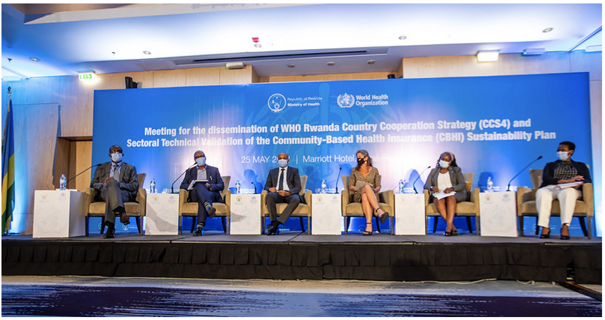 WHO launches the fourth Country Cooperation Strategy (2021-2024)