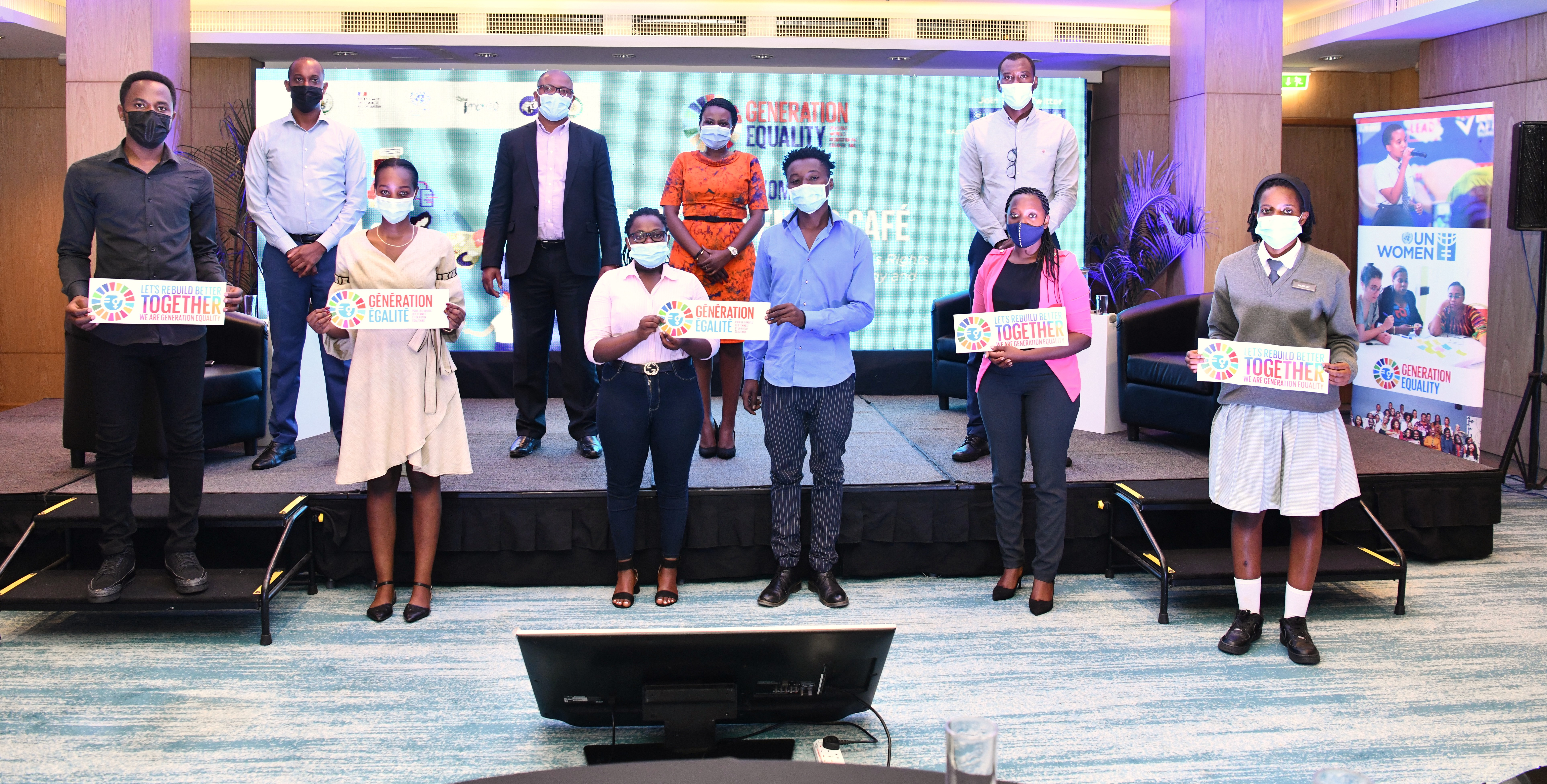 Technology and Innovation for Gender Equality: UN Women Rwanda unveils the Youth potential ahead of Generation Equality Forum in Paris