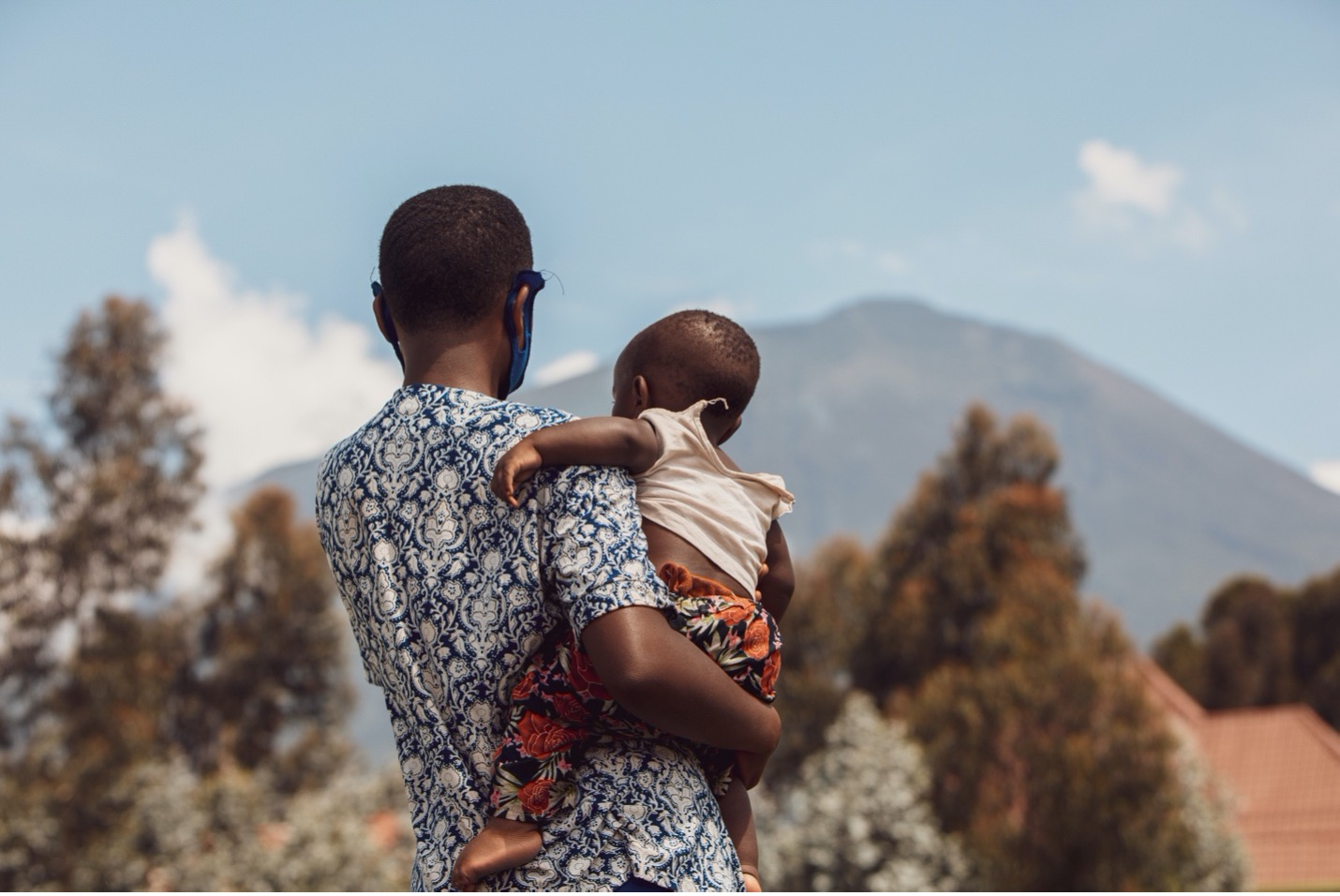 UN Women provides psychosocial support to teen mothers in Rwanda during the COVID-19 pandemic through the Mobile Clinics.